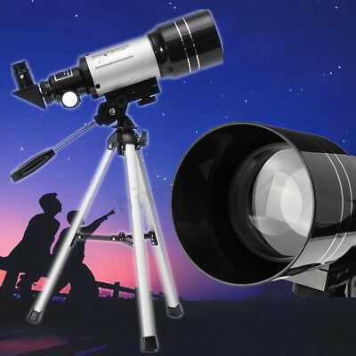 Aperture 150x Zoom HD Astronomical Telescope 70mm High Resolution Night  new