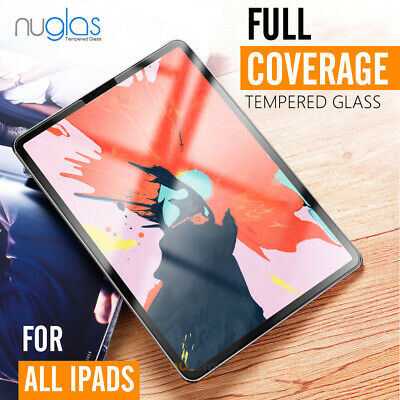 """For Nuglas Apple iPad Pro 11"""" 12.9"""" 2020 9.7"""" Tempered Glass Screen Protector"""