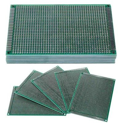 8x12cm Double Side toboard Circuit Tinned Universal totype PCB Board-COP New