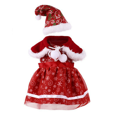 3pc Suit Outfit Dress Cape Hat Clothes for 18'' Girl Our Generation My Life Doll