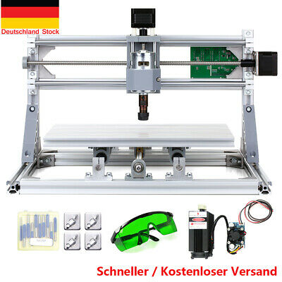 CNC3018 DIY Mini CNC Router Kit 2-in-1 Laser Engraving Machine GRBL Control B0S5