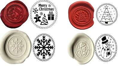 Wax Stamp Sealing COIN ONLY. CHRISTMAS Choice Coins (NO Handle or Wax) XWSC