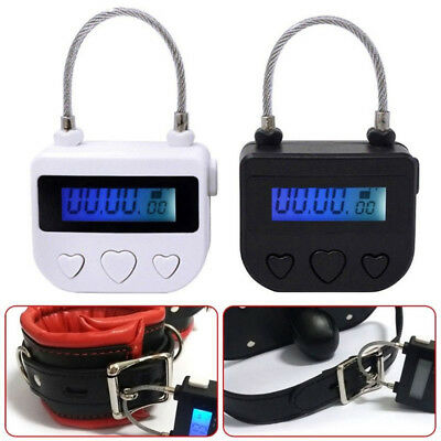 Multipurpose USB Time-Lock Electronic Timer Tool for Ankle Handcuffs Mouth Gag