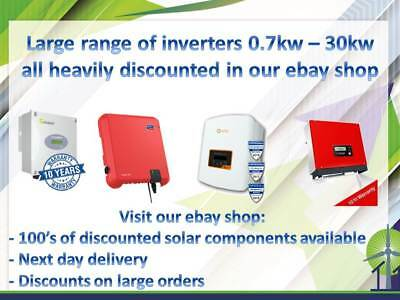 SOLIS SOLAR INVERTER 3 6kW 4G Dual MPPT - Heavily discounted in our ebay  store