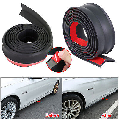 WE 2.5M*65MM Chin Car Front Bumper Lip Splitter Spoiler Lip Skirt Protector New
