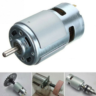 High-power 775 DC Large Torque Motor 12V-24V Low Noise Ball Bearing Tools