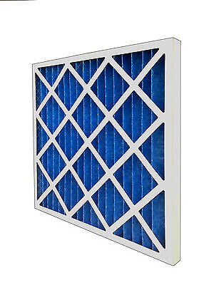 "G4 Pleated Filter Panel 4"" - Various Sizes - HVAC Air Filter - Fast Delivery"