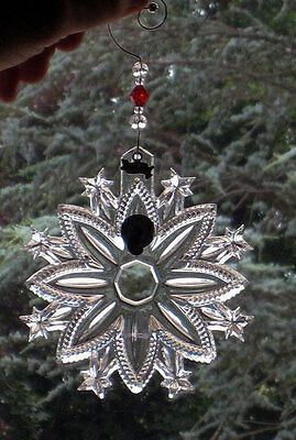 Waterford 2010 Snow Crystal ORNAMENT  w/ removable tag  NEW / BOX   **SALE**