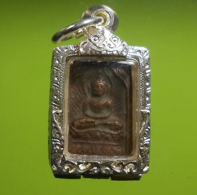 Top! Real Lp Sook Old Thai Buddha Amulet Very Rare !!!