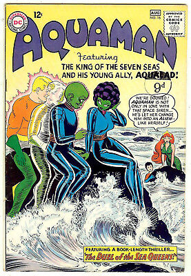 Aquaman #16 (DC 1964, vf- 7.5) guide value in this grade: $57.50 (£51.00)