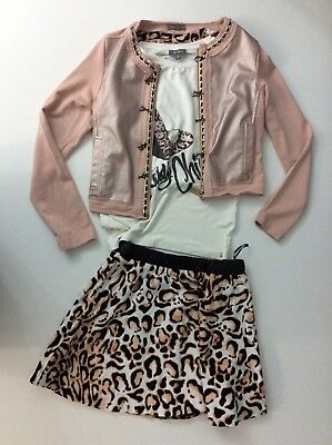 Miss Grant 3 Piece Outfit Set Shorts, Jacket, Top Age 9 Years Size 36 Vgc