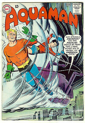 Aquaman #15 (DC 1964, vf- 7.5) guide value in this grade: $57.50 (£51.00)