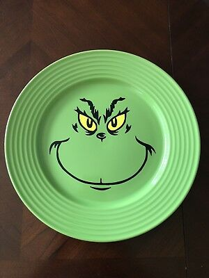 Grinch Green Plate