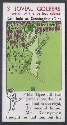 Churchman-3 Jovial Golfers Golf Irish Issue (Inland)-#15- Mr Everyman