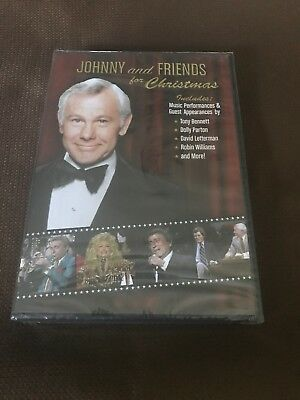 THE TONIGHT SHOW STARRING JOHNNY CARSON & Friends for Christmas (DVD) Brand NEW!