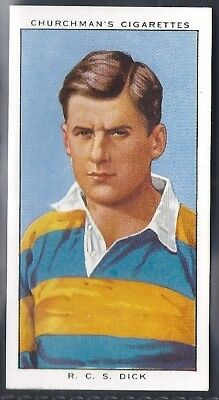 Churchman-Rugby Internationals-#19- Cambridge - Dick