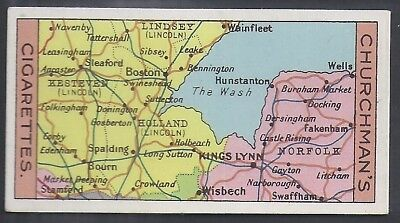 Churchman-Sectional Cycling Map-#23- Quality Card!!!