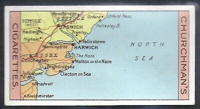 Churchman-Sectional Cycling Map-#35- Quality Card!!!