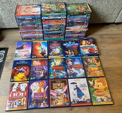 Large Disney DVD Bundle- x73 DVD's- Disney Classics- Children's- Special Edition