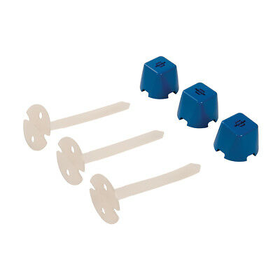 Silverline Tile Spacers 1000pk 2mm Building DIY Tool