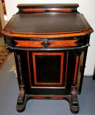 Sale Priced! Antique Victorian Davenport Desk_Diminutive Rare Size_Boston Estate