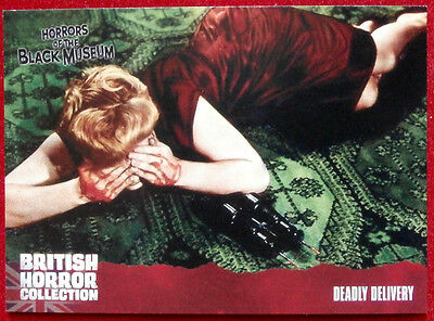 BRITISH HORROR COLLECTION - Horrors of Black Museum - DEADLY DELIVERY - Card #33