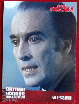 BRITISH HORROR COLLECTION - Scars of Dracula - EVIL PERSONIFIED - Card #17