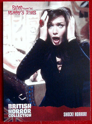 BRITISH HORROR COLLECTION - Blood From Mummy's Tomb - SHOCK! HORROR! - Card #08