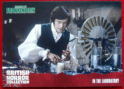 BRITISH HORROR COLLECTION - Horror of Frankenstein - IN THE LABORATORY, Card #24
