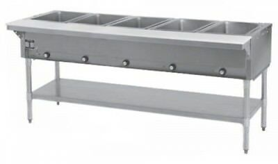 5 Well All Stainless Steel Electric Steam Table