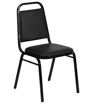 Lot of 50 Black Stack Chair