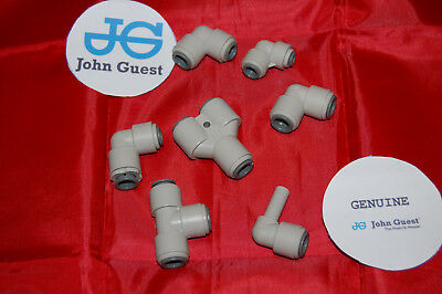 John Guest  3/8 - 3/16 Push Fit fittings drinks, Dispense, Ro Units, Brewery