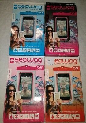 """SEAWAG Universal Waterproof Pouch Case for Smartphone 5.7"""" IPX8"""
