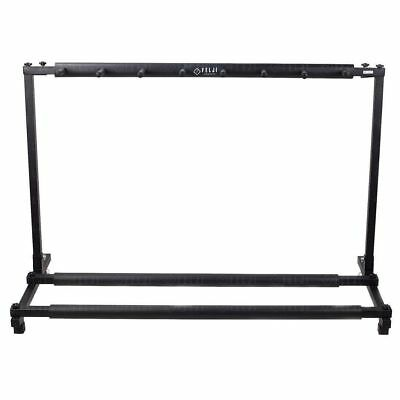 Felji 7 Guitar Stand Holder Folding Stand Rack for Band Stage Bass Acoustic Guit