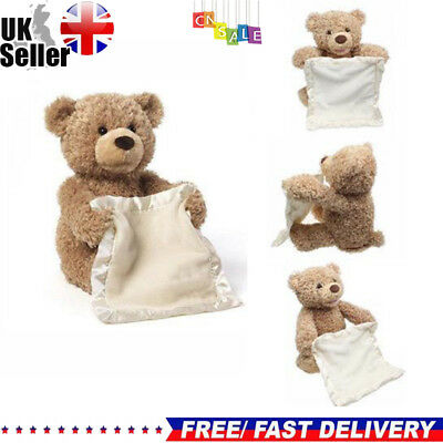 Peek A Boo Teddy Bear Toddler Kids Children Child Play Soft Toy Plush Xmas Gift