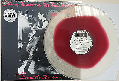 Johnny Thunders & the Heartbreakers 'D.T.K. live at Speakeasy' coloured vinyl LP