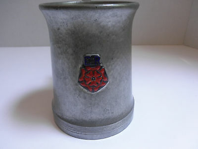 Rare Early Liberty & Co English Pewter & Enamel Tankard By Archibald Knox