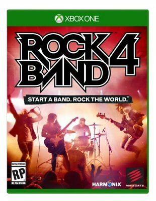 Xbox One 1 Rock Band 4 (game only) - BRAND NEW SEALED