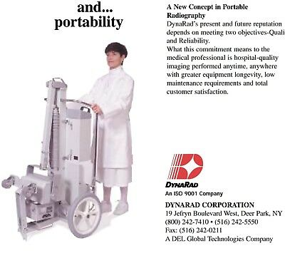 DynaRad Portable X-ray HF-110 High Frequency System