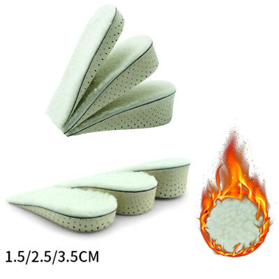 1 Pair Unisex Wedge Heel Insoles Air Cushion Heel Inserts Breathable Shoes Pads