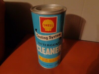 SHELL COOLING SYSTEM DETERGENT CLEANER CAN 18 OZ - Original - SHELL OIL COMPANY