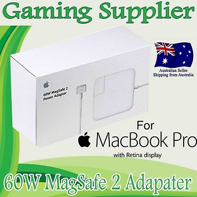 Genuine Original OEM AC Adapter Charger For MacBook Pro 13 Ratina 60W MagSafe 2