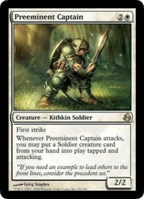 1x Preeminent Captain - Morningtide - NM-Mint, English