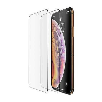 iPhone XS Max Screen Protector Tempered Glass 9H Hardness Scrach Proof 2 Pack