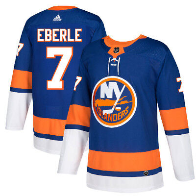 93c4f589a93e4 #7 JORDAN EBERLE Jersey New York Islanders Home Adidas Authentic