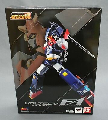 Soul of Chogokin GX-79 Choudenji Machine Voltes V F.A. Bandai Japan NEW