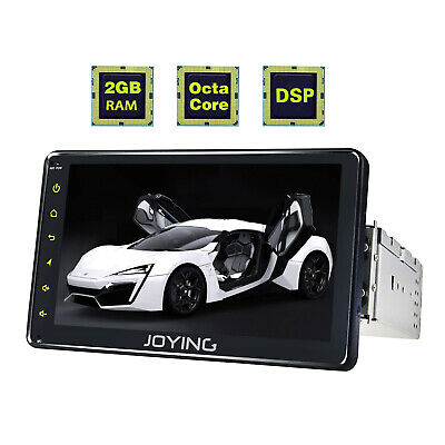 JOYING Ready EU stock 6.2'' Bluetooth WIFI SD 1GB Ram Single 1 Din GPS Android 6