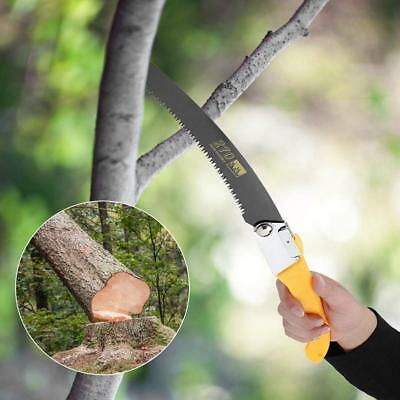280mm Folding Hand Saw Wood Cutting Fruit Trees Pruning Trimming Gardening Tools