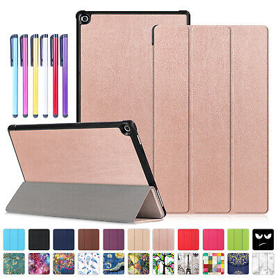 For Amazon Kindle Fire HD 8 2018 2017Smart Leather Case Tablet Stand Flip Cover
