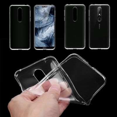 Ultra-Thin Clear TPU Case Soft Silicone Gel Cover Skin For Nokia 7.1